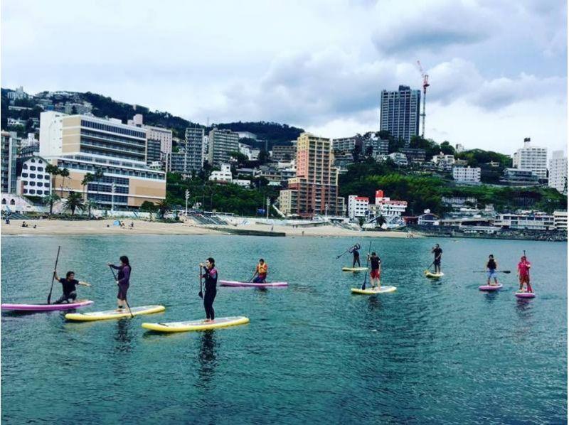 【静岡県・SUP体験】夏季限定!温泉街・熱海でSUP体験したい方におすすめの90分コース!SUP体験の紹介画像