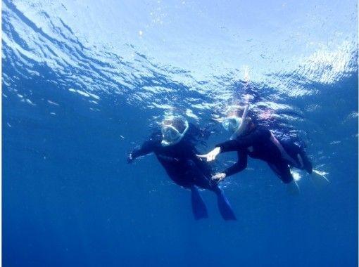 黄金崎の青い海で子供も大人も一緒に楽しめるシュノーケリング♪ スタッフと一緒に1日(写真無料プレゼント)   6歳~の紹介画像