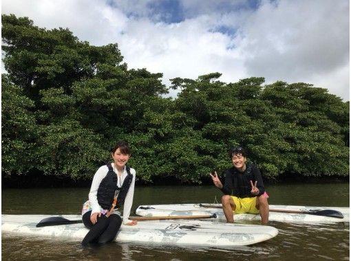 [오키나와·이시가키지마] 전세 ☆ 기념 사진 포함 ☆ 물 위에 서있는 느낌! 체험 SUP (120 분 코스)の紹介画像