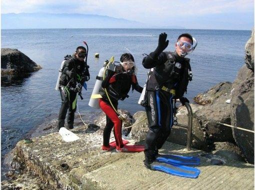 【初島体験ダイビング 1.5時間】初心者歓迎!初島体験ダイビング!の紹介画像