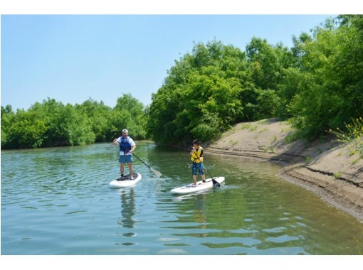 【Kyoto · SUP Experience】 Katsuragawa SUP Experience! Good access and feel free to enjoy nature! (Plenty of 2 hours)の紹介画像