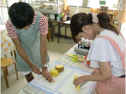 【沖縄・宜野座】沖縄県産パインを収穫&パインジャム作り