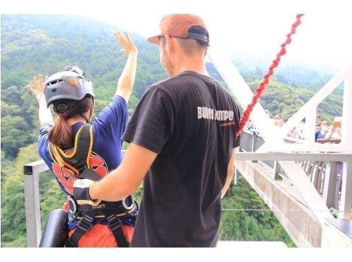 "[Shizuoka / Fuji City] Bungee jumping from a height of 54m! Sudokeikokubashi ""Fuji Bungy"" GoPro Rental & data present!の紹介画像"