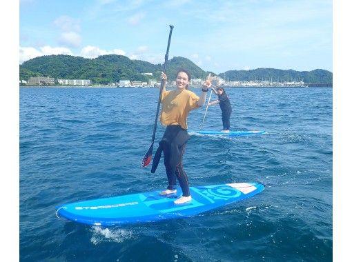 【湘南・逗子】初めての方向け!湘南・逗子海岸をクルージングSUP体験!