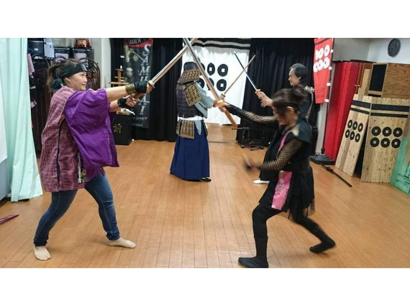 [Osaka, Osaka City] experience the fighting and transformed into a samurai-ninja! Like movies and drama actor mood of the introduction image