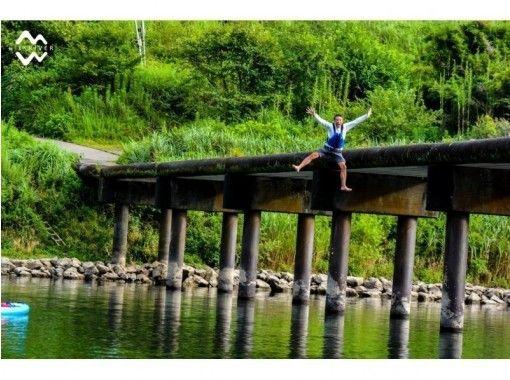 *サップ(60分)* 四万十川でおてがるサップ体験!沈下橋のたもとで遊ぶ!の紹介画像