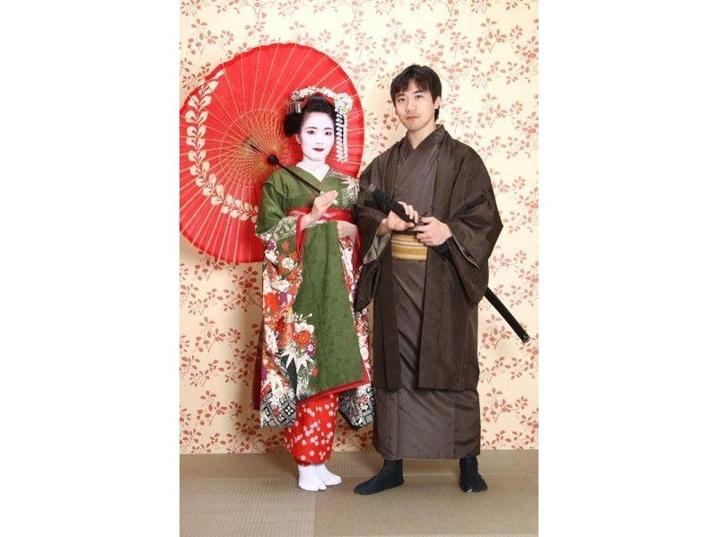 【京都・京都】着物レンタルカップル野外撮影プランの紹介画像