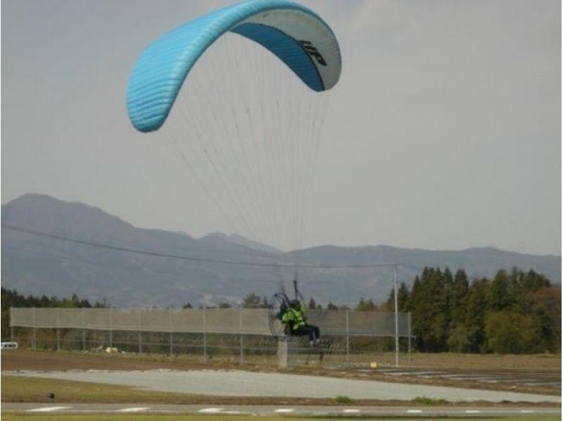 【群馬・沼田】パラグライダー体験フライトの紹介画像
