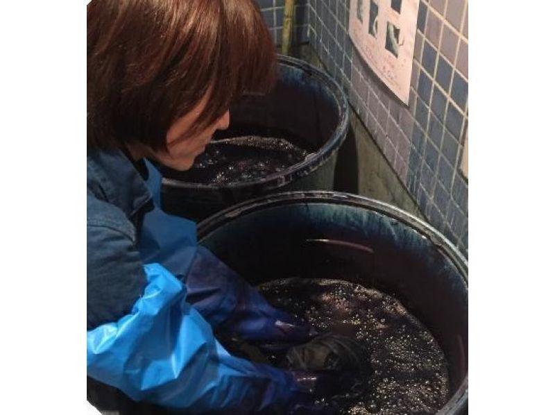 在東京市中心[淺草,東京]靛藍染色體驗!讓Someyo擇機出台圖像上的收藏夾項目[紮染