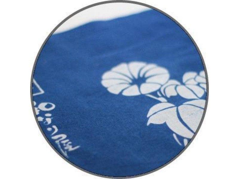 【東京・浅草】東京の下町で藍染め体験!好きなアイテムを選んで染めよう[型染め]の紹介画像