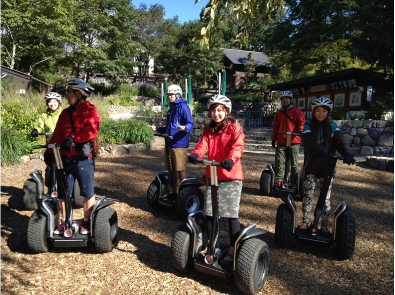 【Yamanashi / Yatsugatake】 Segway Park Ride Tour 14:00 Introduction image of course