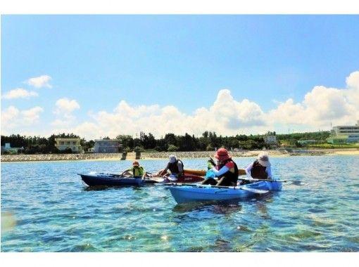 【沖縄・備瀬】綺麗な海へ繰り出そう♪ファミリーにおススメのシーカヤック体験!