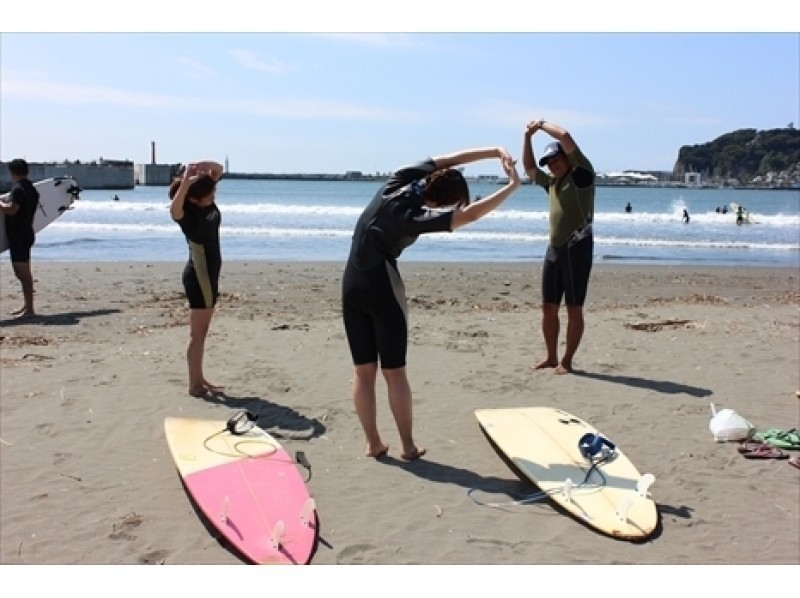Limited [Kanagawa, Shonan surfing school] towards the society women two or more people! Hibiscus plan / 4400 yen introduction image