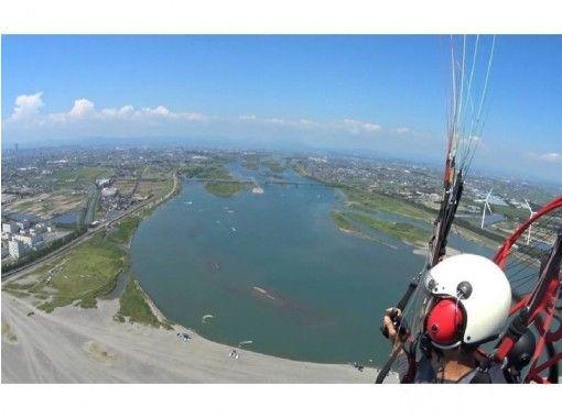 【静岡・湖西】パラグライダー2人乗りビーチフライト体験『ビデオ撮影無料』
