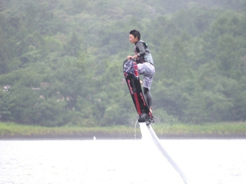 [Yamanashi Yamanakako] Flying surfing! Hover board (1 set 10 minutes) [it is] of introduction image