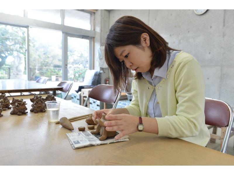 【沖縄・那覇】壺屋焼体験でシーサーを作ろう!の紹介画像