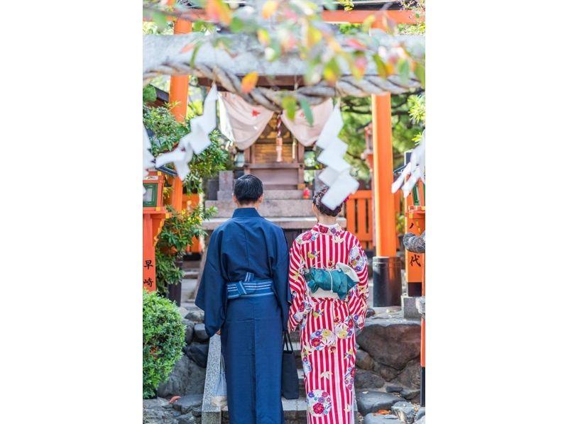 【京都・清水寺 着物レンタル】男性限定プラン! メンズ着物・浴衣レンタルおまかせプランの紹介画像