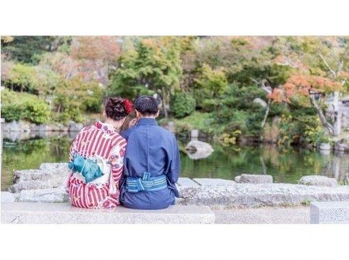 [京都清水寺]情侶折扣、特惠計劃!和服租賃(享受日式小禮物贈品)の紹介画像