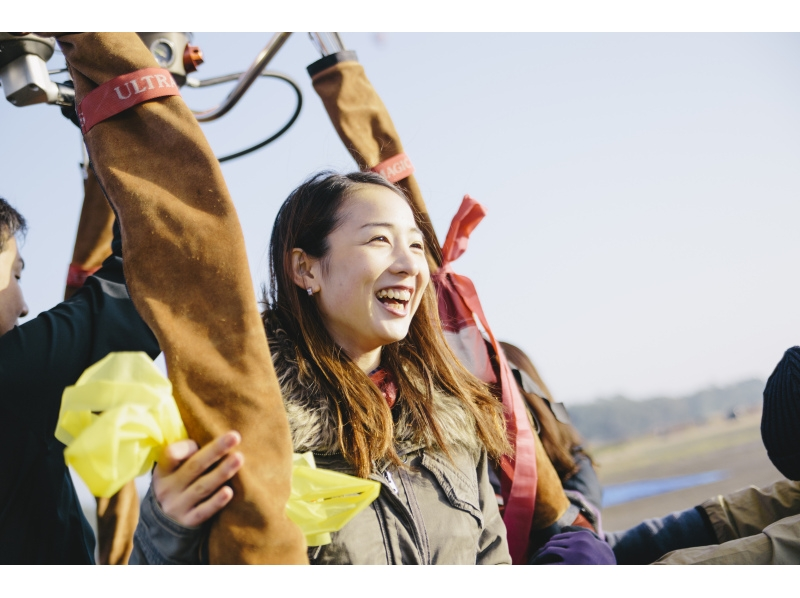 【埼玉県・加須】こんなことまで!?大自然を満喫する迫力の熱気球体験の紹介画像