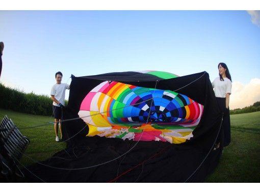 【埼玉・加須】最高高度1000mで風になる!オプションも豊富な熱気球フリーフライト体験!