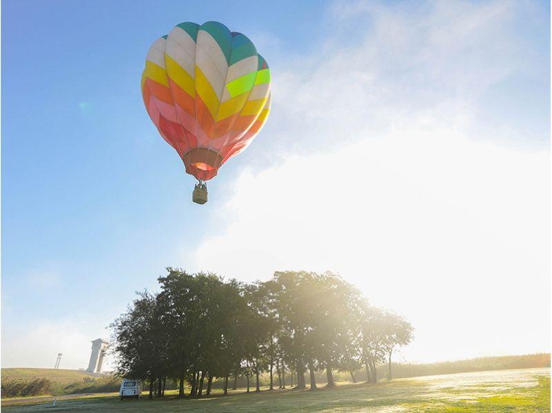 【埼玉県・加須】友人同士のグループにおすすめ!熱気球で絆を深める冒険フライトの紹介画像