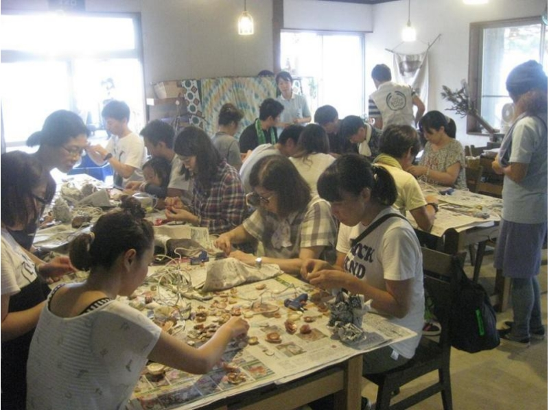【東京・神田】海からの贈り物「マリングラス」でランプシェードを作ろう[2時間コース/3時間コース]の紹介画像