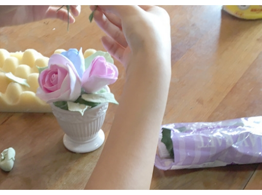 """[Tokyo Fujimidai] For beginners! You can enjoy with a soft clay """"Rose making experience"""" with your children-2 minutes on foot from Fujimidai Station!の紹介画像"""