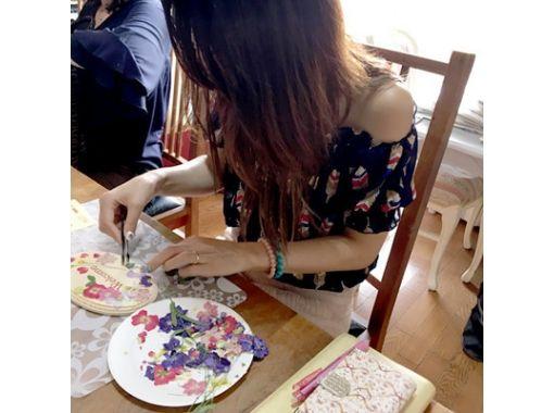 【東京・富士見台】初めての押し花体験でプロのようなウェルカムボード作り(富士見台駅より徒歩2分)