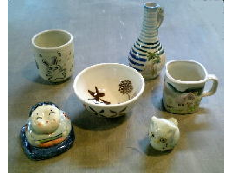 [Tokyo Chofu] pottery experience in lush Jindaiji kiln. To put a picture in full-scale pottery introduction image of [this baked course]