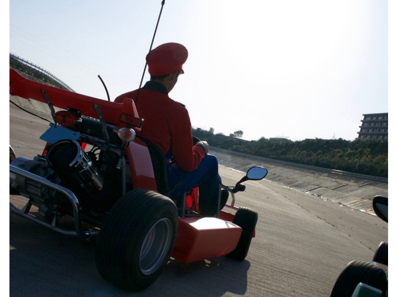 [Shimane / Matsue, Shimane Peninsula] OK if there is a car driver's license. Drive the Matsue rental cart (cosplay free) Introduction image