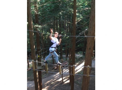 [Hyogo ・ Okugami nabe]Forest Adventure 8 people more Application 300 yen Group plan to enjoy at a discount ♪の紹介画像