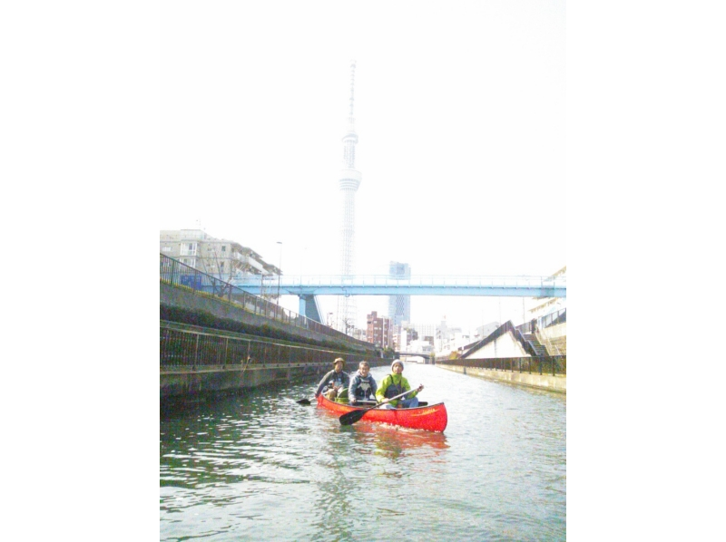 [Tokyo / 23 wards] Introduction image of Sky Tree Canadian canoe