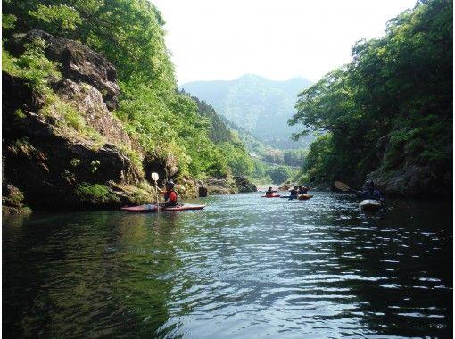 【脱・初心者!東京奥多摩のカヌースクール】川下りをめざす!流れ1クラス