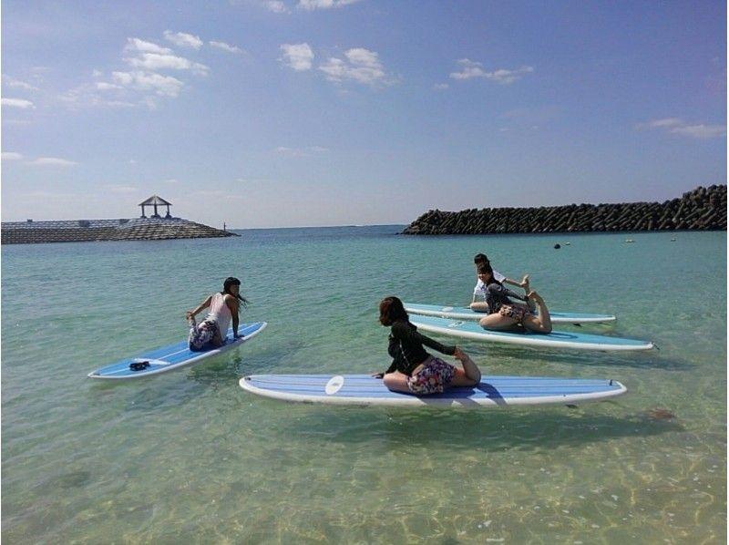 【沖縄・宮古島】初心者もOK。海の上で気持ちよくヨガ体験![SUPヨガ]の紹介画像