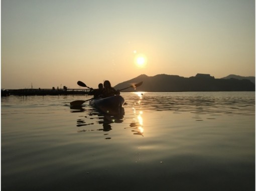 【関西・兵庫県・淡路島】シーカヤック・カヌーを気軽に体験!サンセットコース(75分)
