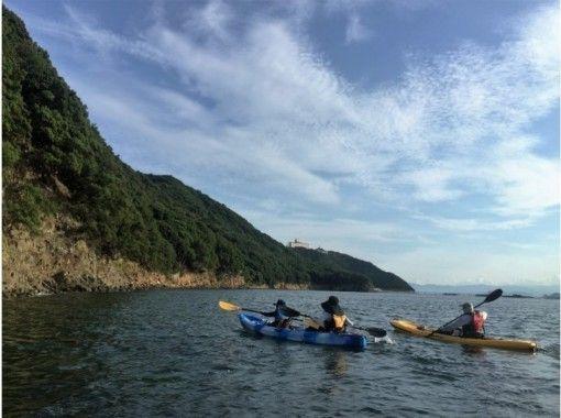 【関西・兵庫県・淡路島】シーカヤック・カヌーを気軽に体験!サンセットコース(75分)  の紹介画像