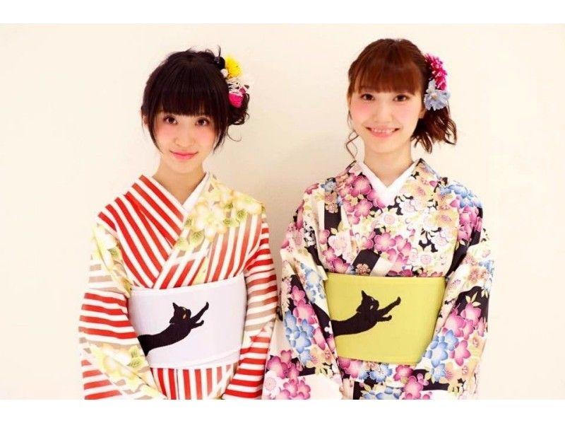 [原宿,東京]走在美麗的和服原宿!和服基本計劃♪介紹圖片