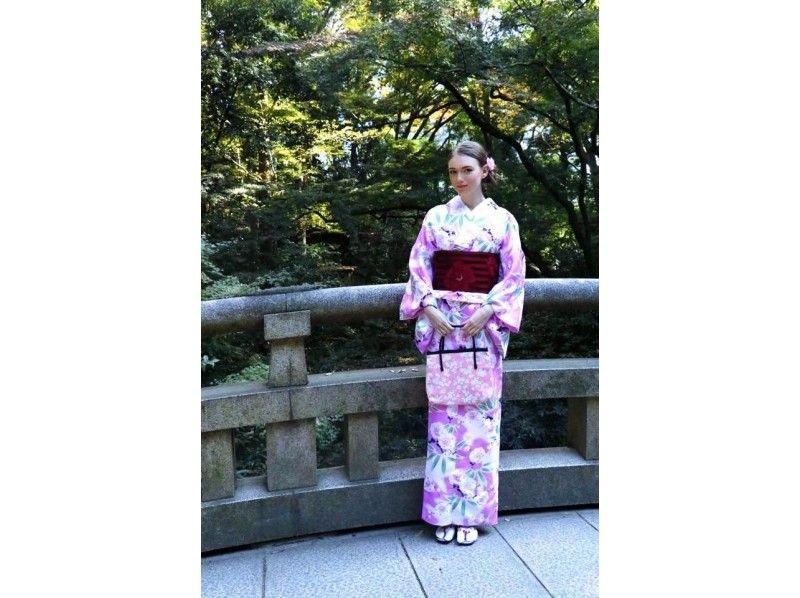 [Harajuku, Tokyo] walk in the lovely kimono Harajuku! Kimono basic plan ♪ Introduction image
