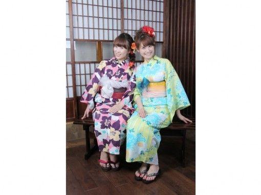【東京・新宿・浴衣レンタル】浴衣で女子会プラン!