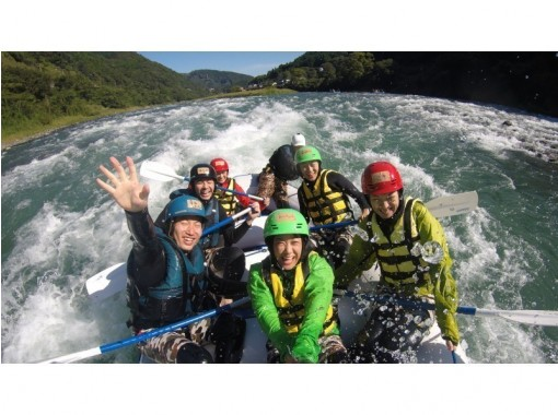 [Kumamoto Kuma River] Japan's three large torrent! Rafting experience (course afternoon)の紹介画像