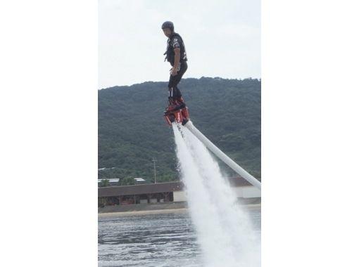 【長崎ハウステンボスの後に寄れる!】水圧で空を飛ぶフライボード体験