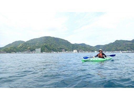 【静岡/沼津・伊豆】さくっと半日、でも濃密に。体験カヤック(半日)で海に浮かぶ楽しさを味わって!の紹介画像