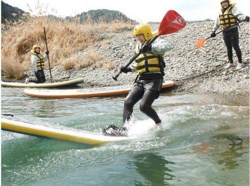 【熊本・球磨川】大注目!リバーサップ(River SUP)★半日体験ツアー【午前コース】の紹介画像