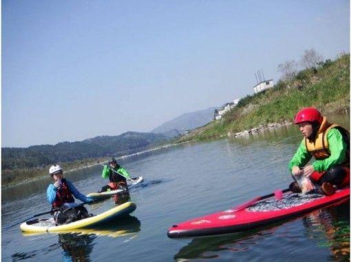 【熊本・球磨川】大注目!リバーサップ(River SUP)★半日体験ツアー【午後コース】
