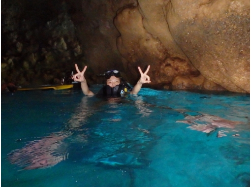 * A great deal for free! Blue cave snorkel & all-you-can-eat courseの紹介画像