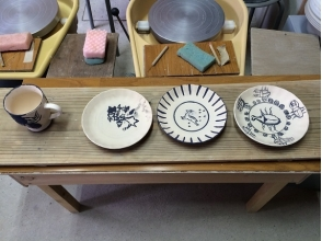 ならまち万葉陶芸教室の画像