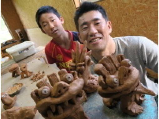 【広島・安芸太田】太田川上流、自然の中でゆったり陶芸体験。〔手びねり陶芸〕