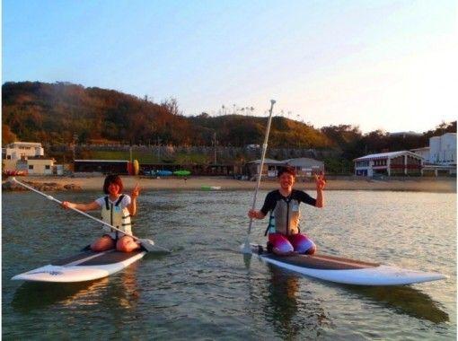 【沖縄・恩納村】スタンドアップパドルボードでサンセット(SUP)当日予約OK♪ 地域共通クーポン利用可能♪の紹介画像