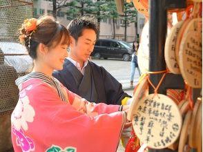 Rental kimono cherry image