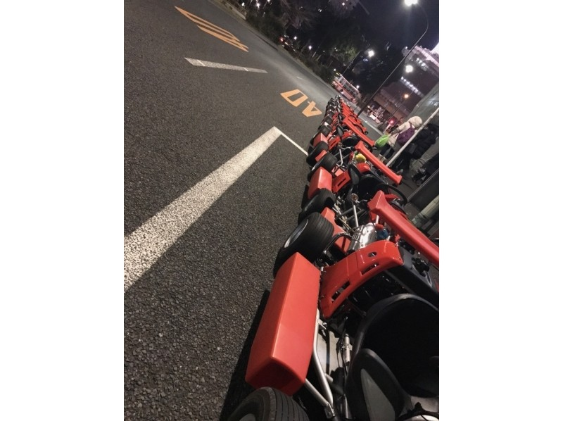 【Tokyo · Roppongi】 Anyhow stand out! Our shop recommended TOKYO Go-Kart.120 minutes course! Introduction image of